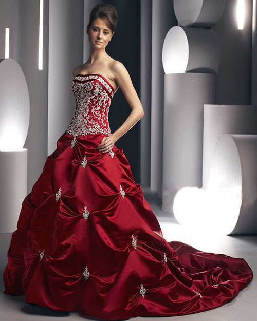 Red wedding dress – Buy Dress For Less