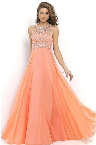 2fe90431e2 Szyfonowe suknie wieczorowe bogato zdobione – Buy Dress For Less